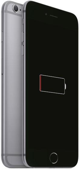 iPhone 6s разряжен и трЙебует замены аккумулятора