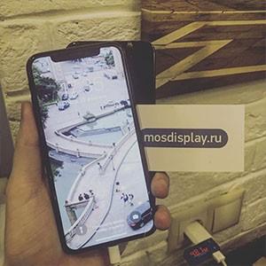 iPhone X после замены экрана