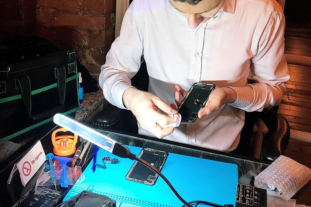 Замена экрана iPhone XS MAX на оригинал в Москве 👍