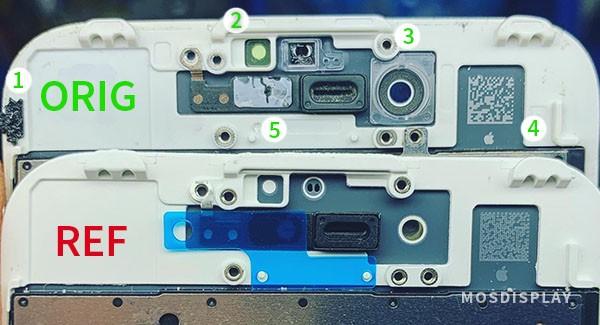 Как отличить оригинальный экран iPhone 7 и 7+ от восстановленного?