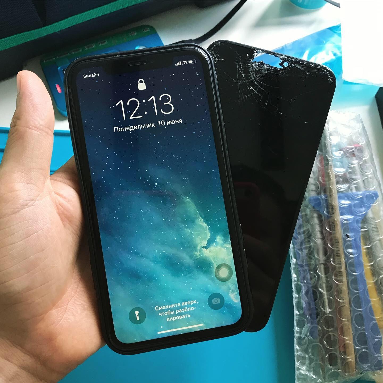 Замена экрана iPhone 11