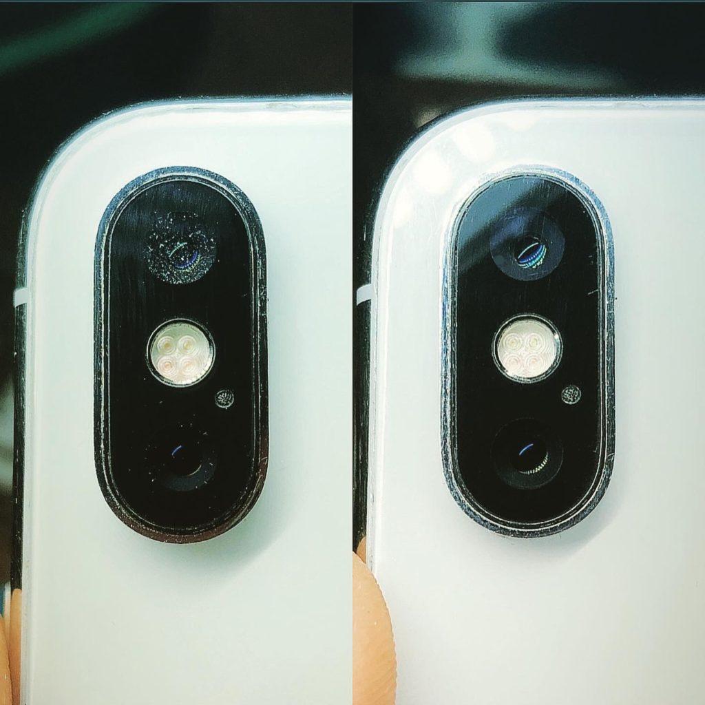 Чистка от пыли iPhone