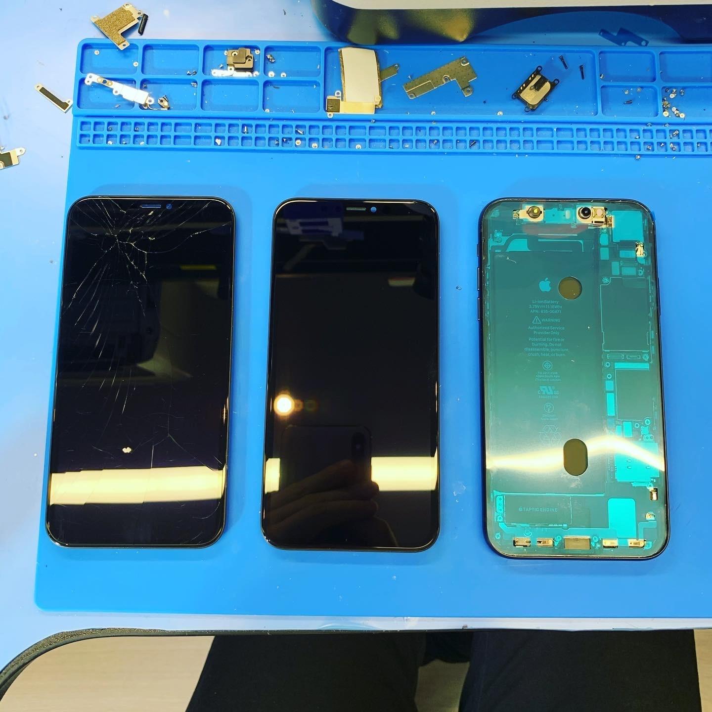 Замена стекла iPhone