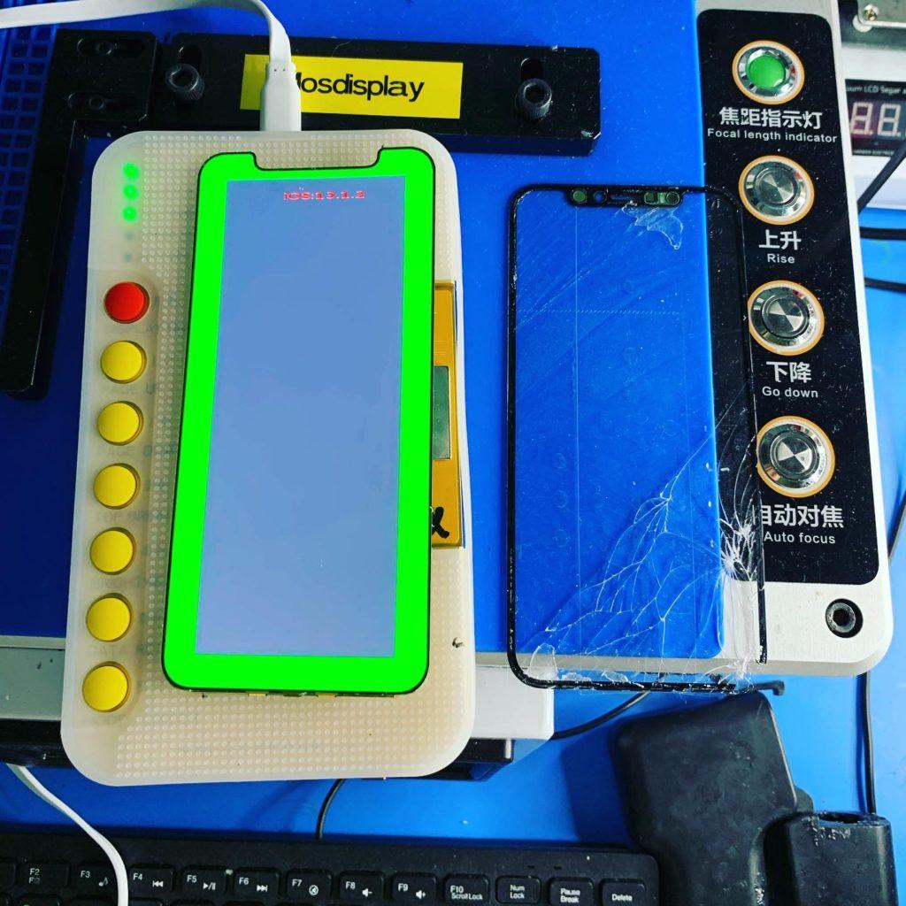 Замена стекла iPhone Pro