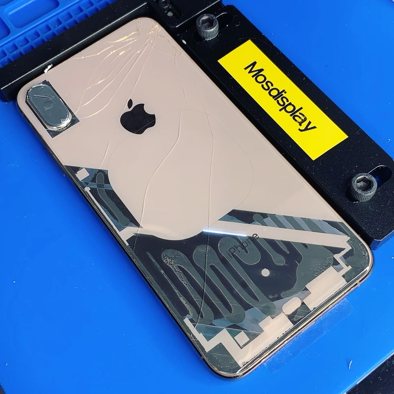 Лазерная замена стекла iPhone XS
