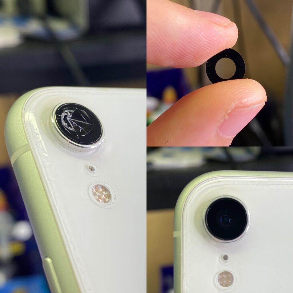 Стекло камеры iPhone XR
