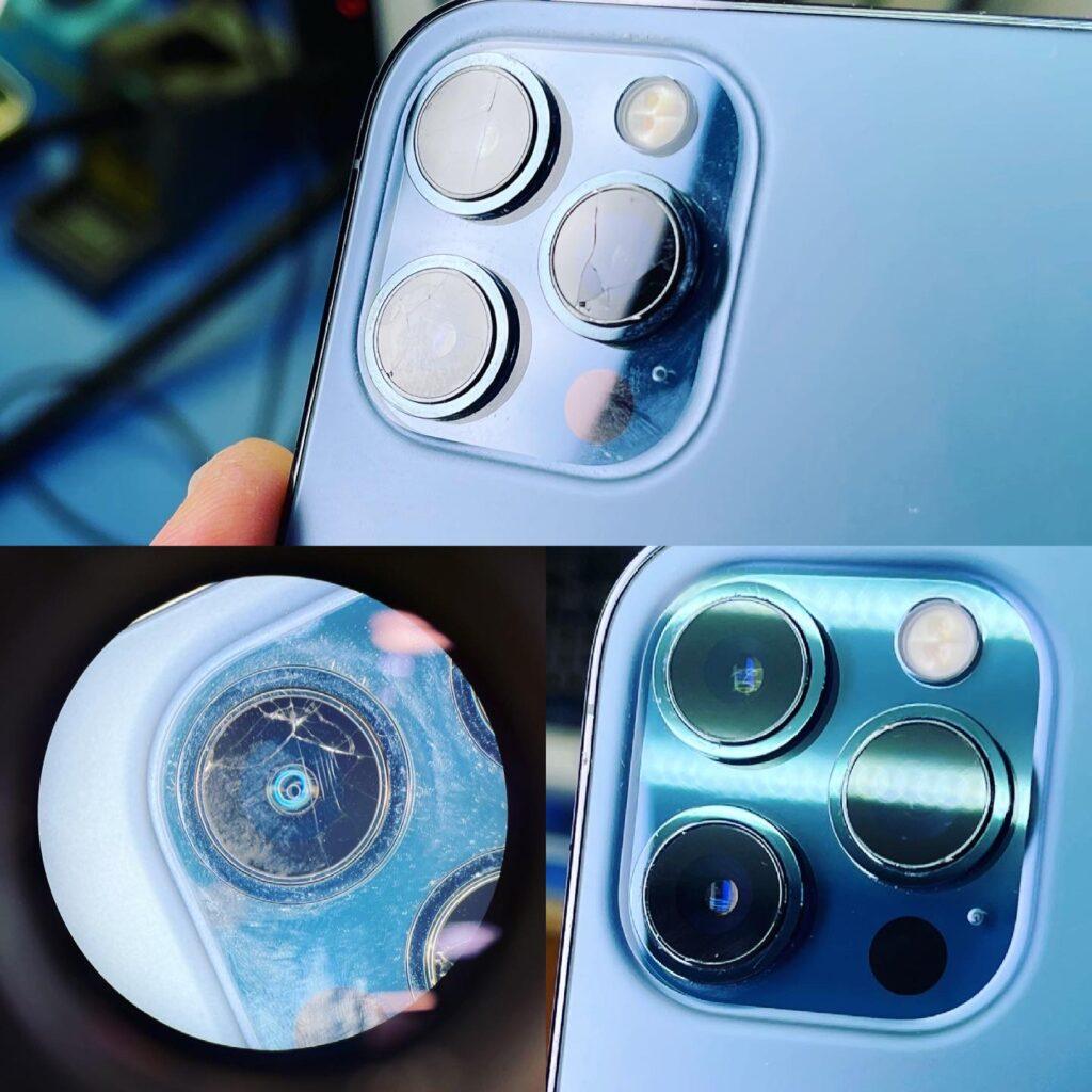 Замена стекла камеры iPhone 12 Pro Max