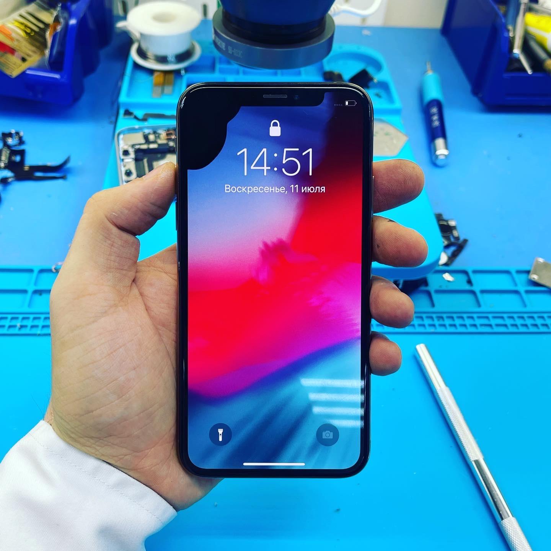 Замена стекла iPhone 12 Pro Max на оригинал в Москве 👍