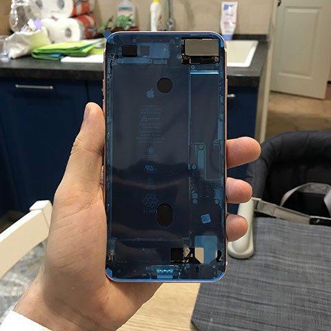 Защита от воды в iPhone 7 plus